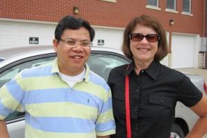 Truc Vu and Nancy Clisbee
