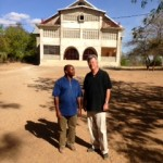 Fr. Deusdedit Mulokozi, C.PP.S., pastor of the parish in Chibumagwa, Tanzania with Fr Joe Nassal, C.PP.S.
