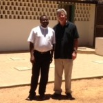 Fr. Seraphin and Fr. Joe Nassal in Tanzania.