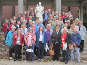 Kansas City Companions at their annual retreat at Conception Abbey.