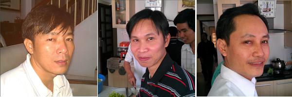 Joseph Ky Phung Vu, Paul Hao Pham Xuan, and Vincent Hoa Vu Thai