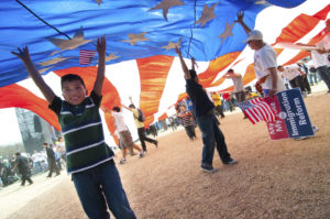 immigrant-children-with-flag