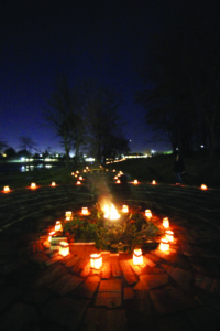 Luminaries at Precious Blood Center
