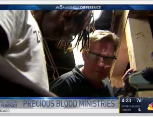 Precious Blood Ministry of Reconciliation Featured on Chicago Channel 5 News