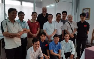 Fr. Bill Nordenbrock and members of the CPPS Vietnam Mission