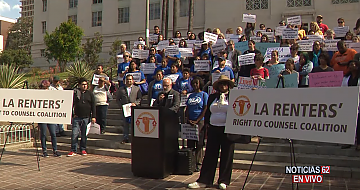 """St. Agnes Parish Collaborates With One LA for """"Right to Counsel"""" Proposal"""