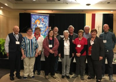Centerville, Iowa Companions who renewed covenants during the 2019 Assembly.