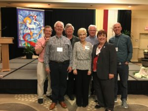 Warrensburg Companions who renewed covenant during the 2019 Assembly.