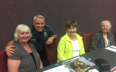 Precious Blood Resource Services Participates in KCPD Outreach Event