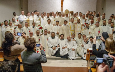 Two Members of Vietnam Mission Ordained Deacons in Rome